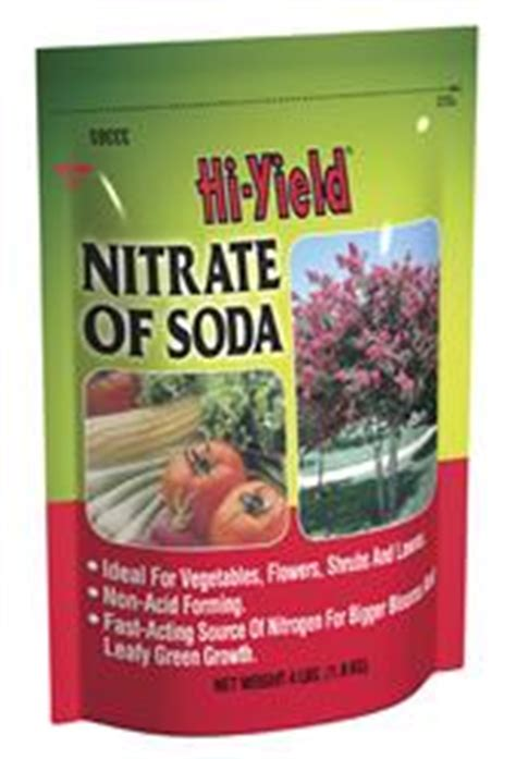 yields nitrate  soda
