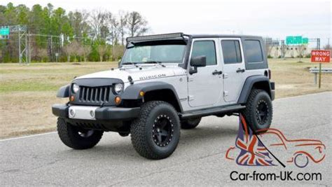 jeep wrangler lifted jk  miles  door rubicon