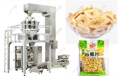 automatic plantain chips sealing packaging machine