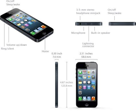 iphone dimensions apple s iphone 5 specifications iosorchard