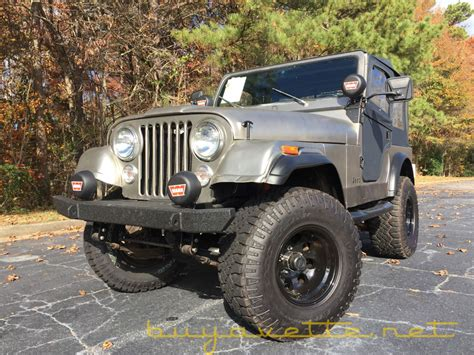 jeep cj  sale