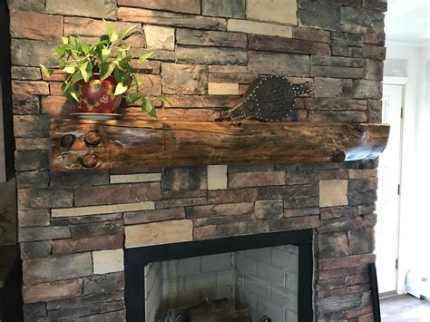 Rustic Fireplace Mantels, Recycled, Reclaimed Wood Mantels