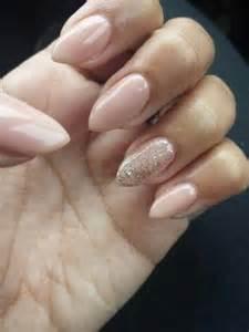Luv nails almonds shape glitter almond ps