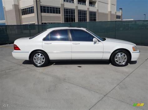 pearl white 1999 acura rl 3 5 sedan exterior photo