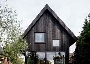 A, Dark, Wood, House, In, Amsterdam, House, Mm
