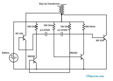 dc  ac inverter circuit working limitations