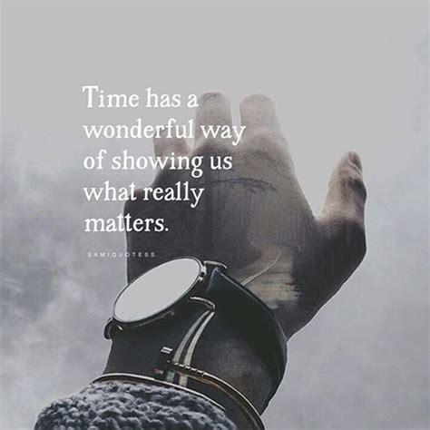 time   wonderful   showing    matters