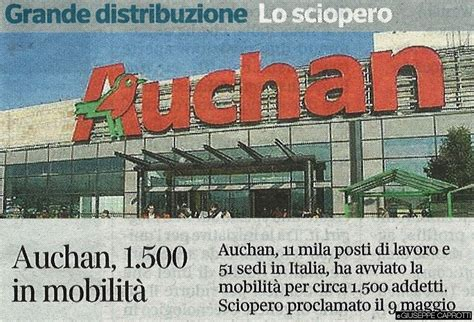 si鑒e social auchan auchan italia 1500 esuberi e la crisi degli ipermercati non finisce più giuseppecaprotti it