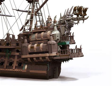 Lego Pirate Ship Flying Dutchman