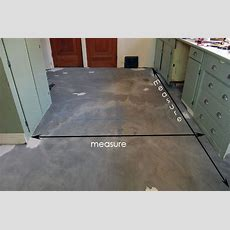 The Kitchen Floor Finishedlaying Vct Tile  The Art Of