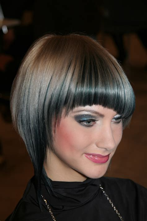 bob haircut with bangs trend hairstyles 2012