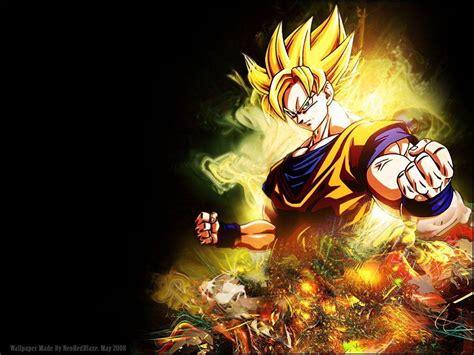 Dragon Ball Z Goku Wallpapers  Wallpaper Cave