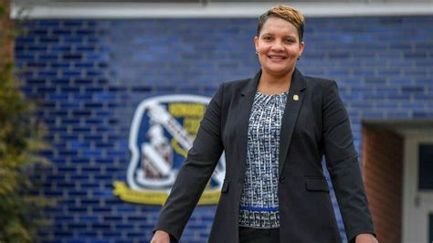 howard countys  police chief breaks glass ceiling