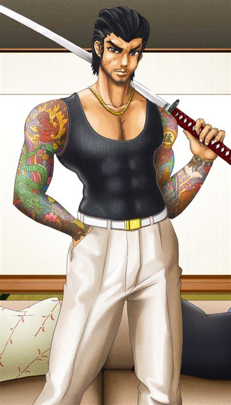 yakuza boss detail  mantastic  deviantart