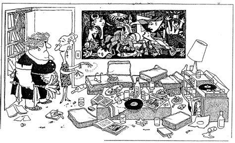 quino cartoon picassos guernica guernica historical