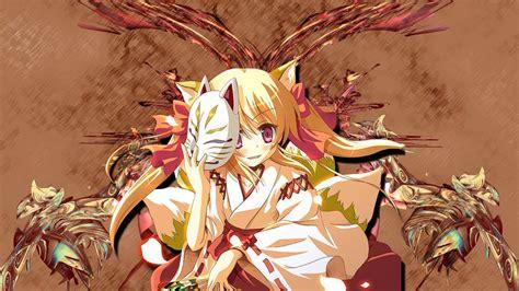 kitsune girl  siles tv movies books art anime
