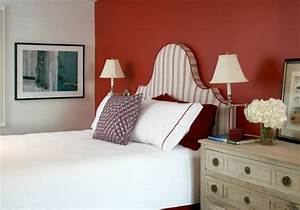 Tete De Lit Rouge : d coration chambre en couleur rouge 42 id es mangnfiques ~ Teatrodelosmanantiales.com Idées de Décoration