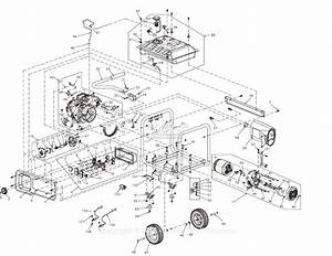 Generac 0066730  Rs7000e  Parts Diagram For Full Assembly