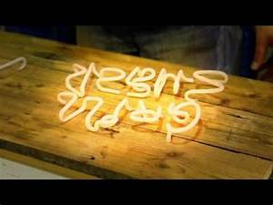 How are neon signs made The process of making neon signs