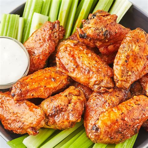 fryer wings chicken air recipes recipe wing buffalo easy delish fried fish cooking meat winfs these char broil fry bongabon