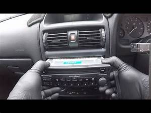 Vauxhall Opel Astra G Radio Removal    Holden Ts Astra Radio Removal