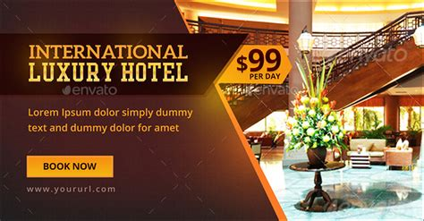 luxury hotel banners  hyov graphicriver