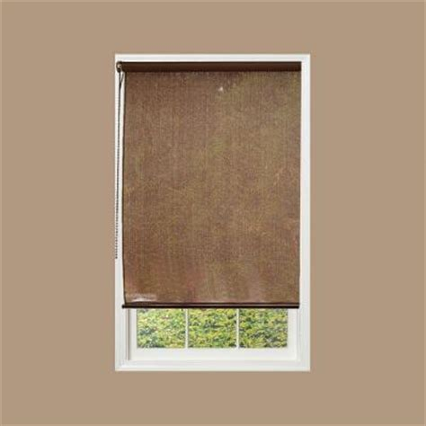 radiance cocoa exterior rollup shade 72 in w x 72 in l