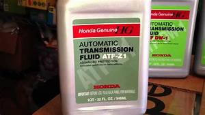 Repair User   Changing Manual Transmission Fluid On Honda