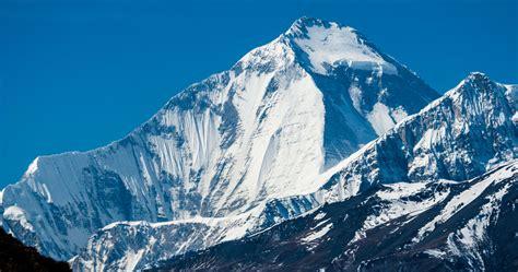 Dhaulagiri I And The East Ridge Of Tukuche