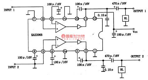 Power Audio Amplifier Circuit Diagram Sendb