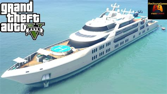 avoir le yacht de luxe dans le mode histoire de gta 5 1