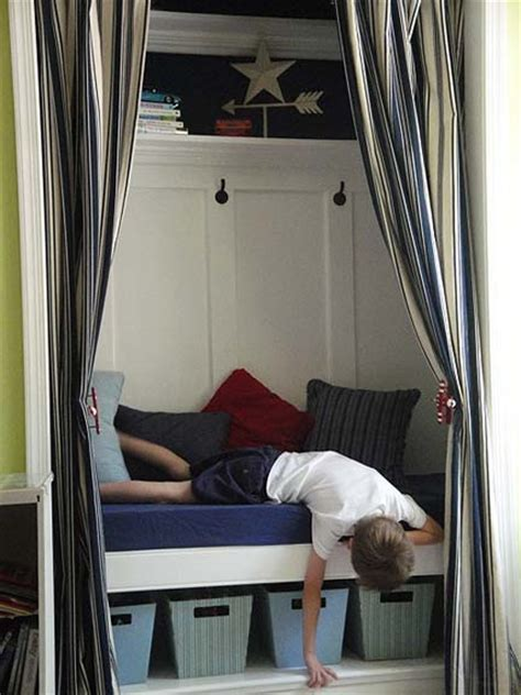 closet turned reading nook and storage closettips
