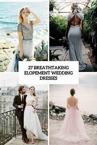 wedding dresses archives weddingomania With elopement wedding dress
