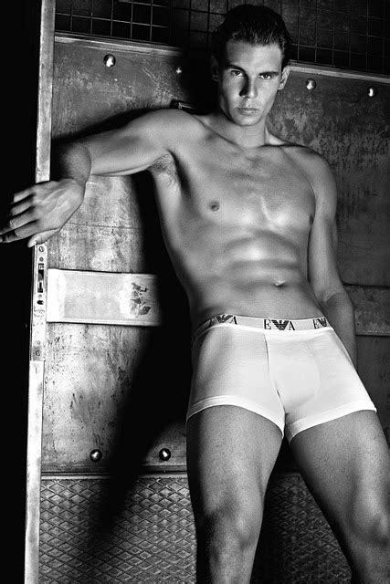 Rafael Nadal Models For Armani