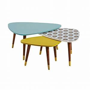Table Gigogne Maison Du Monde : lucett tables gigognes maisons du monde decofinder ~ Teatrodelosmanantiales.com Idées de Décoration