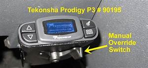Does The Tekonsha Prodigy P3 Have A Manual Override Switch