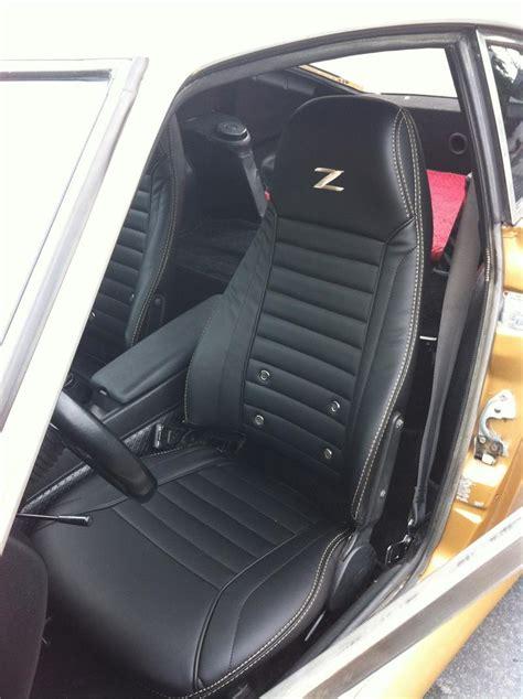 Datsun 280z Seats by Seat Upholstery 1974 Datsun 260z Seat Cover Front