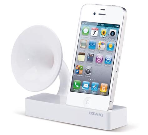 iphone speaker dock ozaki isuppli gramo iphone dock speaker gadgetsin