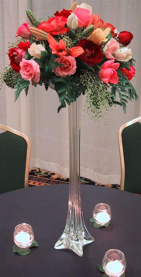 tall wedding centerpiece ideas images  pinterest