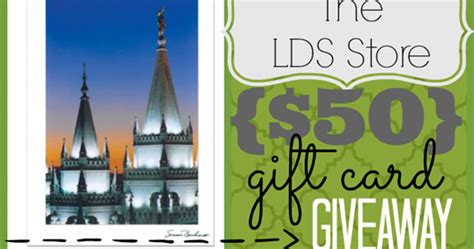 ginger snap crafts  lds store  gift card giveaway