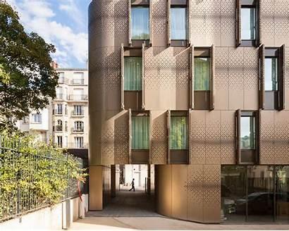 Student Housing Architecture Vib Block Building Metal