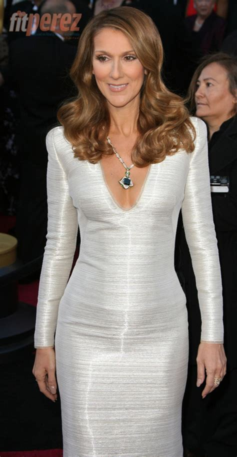 celine dion reveals secret   body