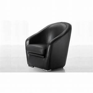 Fauteuil Salon Design : nola fauteuil club en cuir design fait en italie ~ Teatrodelosmanantiales.com Idées de Décoration