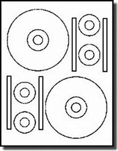 40 stomperr pro format cd dvd labels matte white for for Cd stomper template