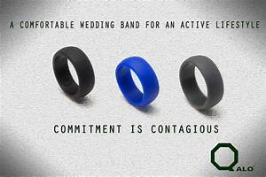 qalo ring a solution for working out with a wedding band With lifting wedding rings