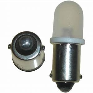 Aw Motorcycle Parts  Bulbs Ba9s Led 12v Blue  Pair