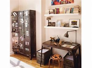 Bureau Style Industriel : photo armoire de bureau style industriel ~ Teatrodelosmanantiales.com Idées de Décoration