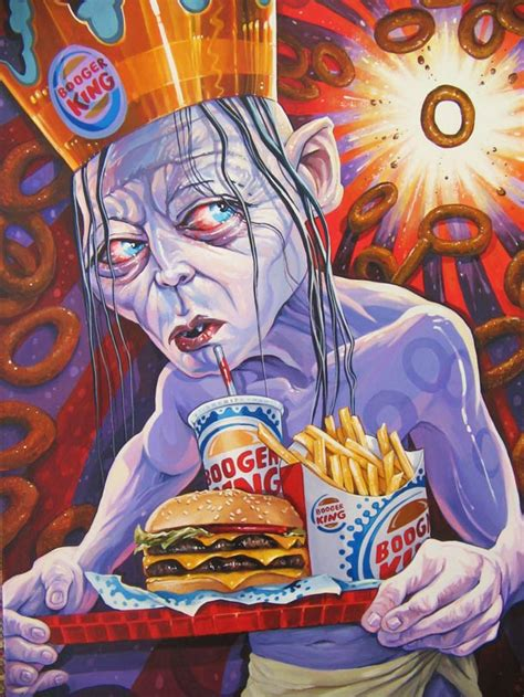 Amazon Com Burger King The Lord Of The Misery Land 30 Pop Trash Creations By Dave Macdowell