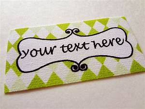 custom printed fabric labels design 63 by eyeluvnyc on etsy With custom printed fabric labels