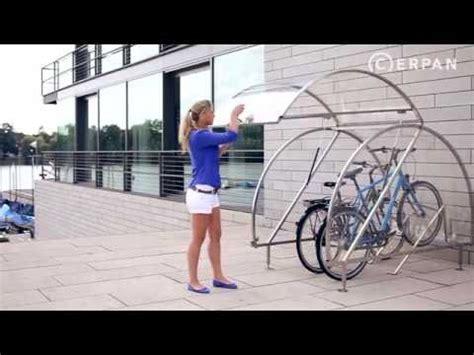 fahrradgarage cerpan fuer   fahrraeder youtube